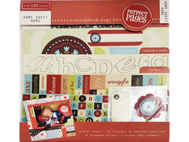 """Colorbok """"Home Sweet Home"""" Scrapbook Page Kit, 8x8"""""""