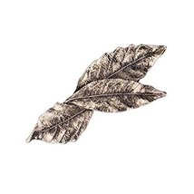 Set of 3 Bronze Color Leaves Shape Retro Style Hair Pins Hair Accessories - $12.20