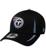 New Era 39THIRTY NFL Tennessee Titans Football Hat Cap Stretch Size S/M - £16.05 GBP