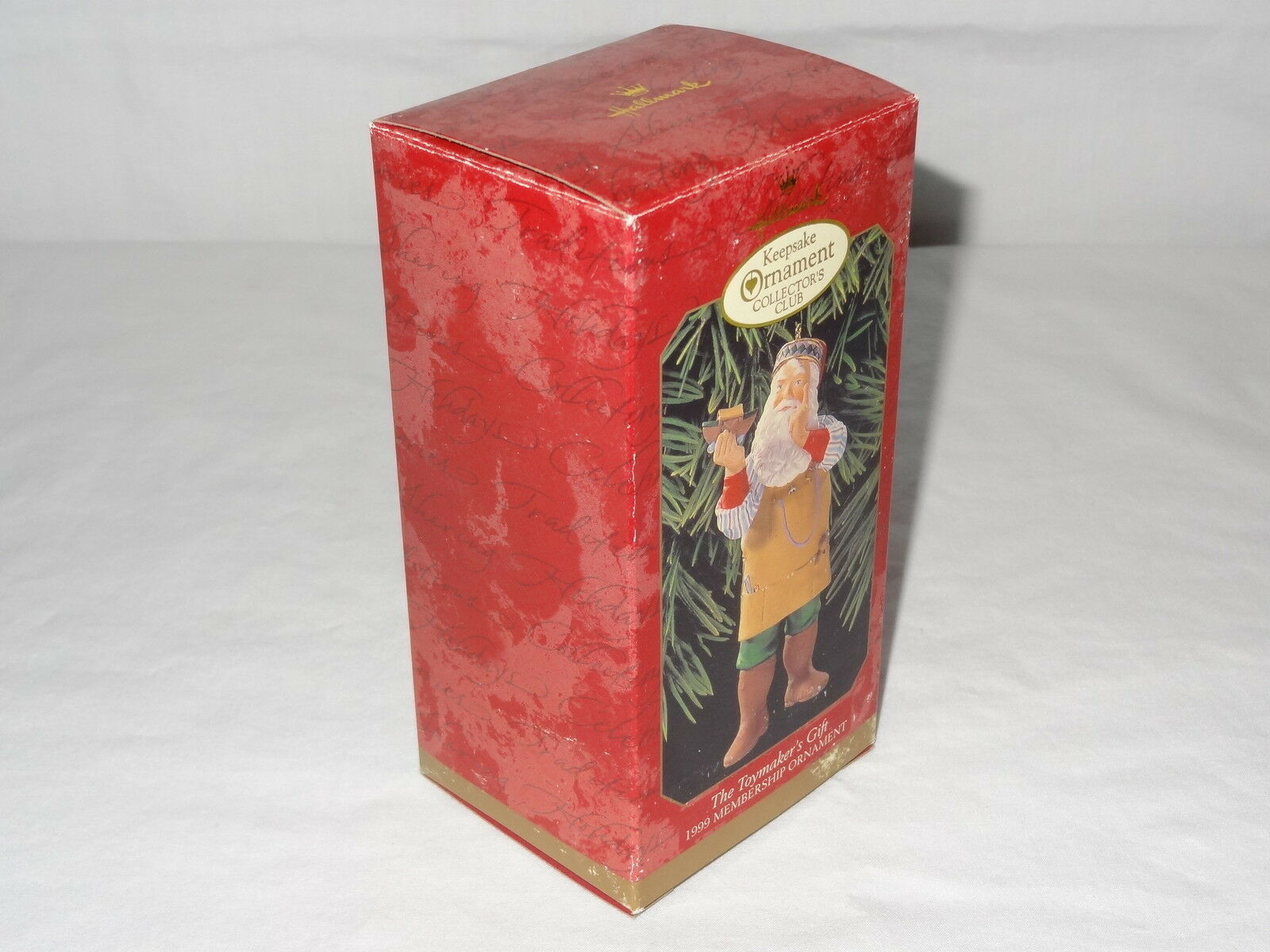 1999 Hallmark Ornaments Toymakers Gift Series Santa Keepsake Collectors Club image 10