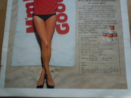Vintage Campbell's M'm M'm Good Beach Towel Offer Print Magazine Ad 1971 image 3