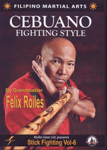 Filipino Martial Art Cebuano Stick Fighting #4 DVD GM Felix Roiles escri... - $27.50