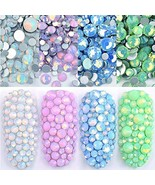 DAODER 4pack Sparkly Opal Rhinestones for Nails 3D Nail Art Rhinestones ... - $14.31
