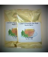 Lenier's English Style Apple Spice flavored  2/ 8 count (16) Tea bags - $4.59