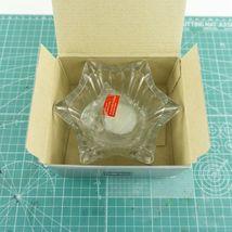 "VTG Mikasa Japan Votive 5"" Six Sided Tealight Candle Holder Key Glass Decorative image 8"