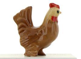 Hagen Renaker Miniature Chicken Little Red Hen Ceramic Figurine image 5