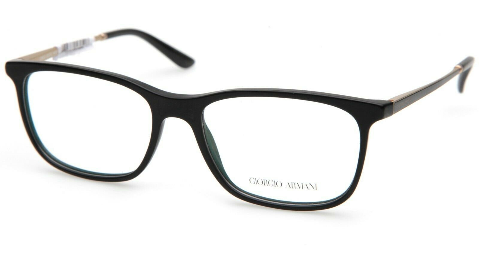 Primary image for New GIORGIO ARMANI AR7112 5052 BLACK EYEGLASSES FRAME 55-17-140mm B38mm Italy