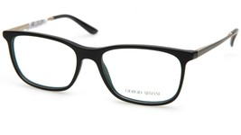New GIORGIO ARMANI AR7112 5052 BLACK EYEGLASSES FRAME 55-17-140mm B38mm ... - $123.74