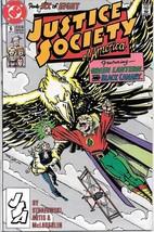Justice Society of America Comic Book Mini-Series #6 DC 1991 VERY FINE - $2.25