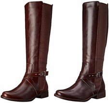 STEVEN by Steve Madden Women's Sydnee Wide Calf Motorcycle Riding Boot US - $44.99