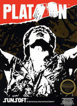 Platoon NINTENDO NES Video Game - $3.22