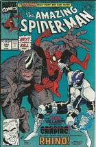 Amazing Spiderman #344 ORIGINAL Vintage 1991 Marvel Comics 1st App Cletu... - $89.09