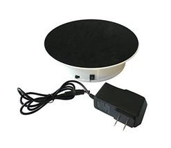 Inovat White Color Velvet Top Motorized Rotating Display Stand for Jewel... - $26.57