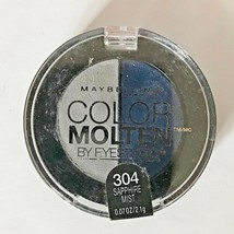 Maybelline New York Color Molten Eye Studio Shadow .07 Oz Sapphire Mist 304 - $4.84