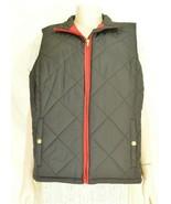 Ralph Lauren vest SZ 2X black puffer zipper front snap pockets chic career - $49.49