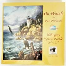 "SunsOut Jigsaw Puzzle Rudi Reichardt ""On Watch"" 1000 Pieces"