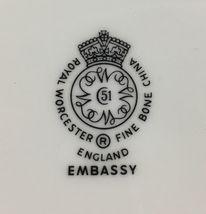 Royal Worcester Embassy Saucer  image 3