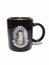 """Golf """"Birdie"""" Black Gold Rim With Pewter Emblem Coffee Cup Mug - $13.99"""