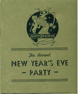1920s ALCAZAR HOTEL (FL) New Years Eve Party invitation - $9.89