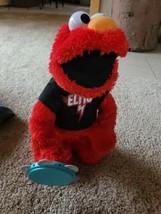 Sesame Street Elmo Let's Rock Sings Rockin Songs Plush Doll 2010  Works ... - $17.82