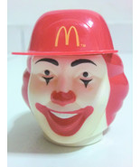 Vintage Ronald McDonald Head Ice Cream Container Cup - $9.89