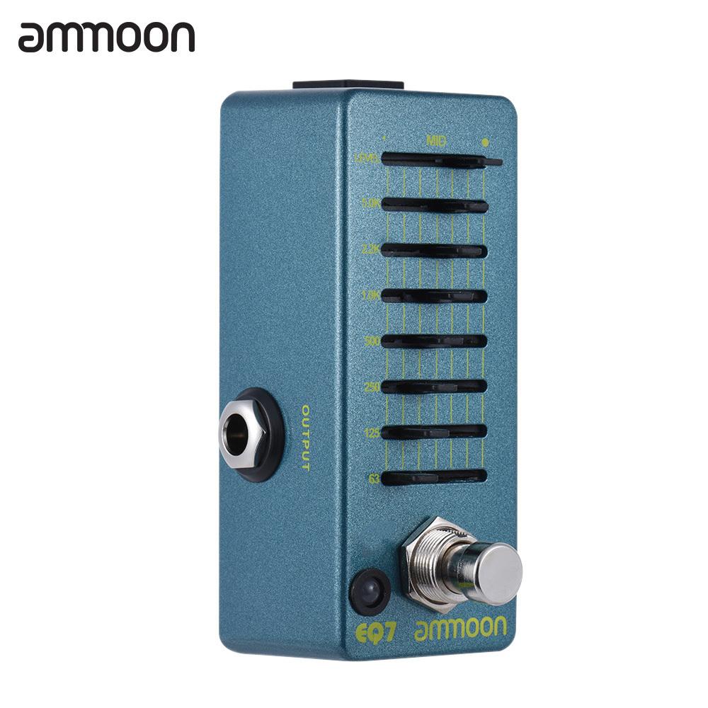 ammoon eq7 mini guitar equalizer effect pedal 7 band eq guitarra effect pedal tr fishing. Black Bedroom Furniture Sets. Home Design Ideas