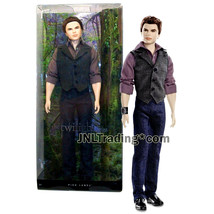 Year 2012 Barbie Pink Label Series The Twilight Saga 12 Inch Doll EMMETT... - $54.99