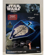 Star Wars Science Spacecraft Flight Lab Millennium Falcon  Disney Milton... - $17.77