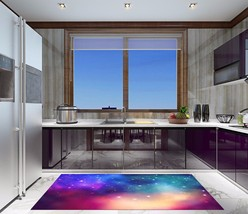 3D Color Star Sky Kitchen Mat Floor Murals Wall Print Wall Deco Aj Wallpaper Au - $38.58+