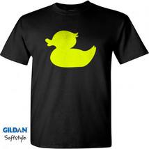 Rubber Duck Men Black T-Shirt New - $17.99