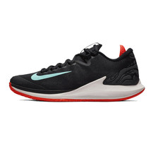 Nike Court Air Zoom Zero HC Men's Tennis Shoes Sports Athletic Black AA8... - $136.99