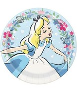 Alice in Wonderland Disney Lunch Plates 8 Per Package Birthday Party Sup... - $4.90