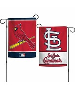 """ST. LOUIS CARDINALS 2 SIDED 12""""X18"""" GARDEN FLAG NEW & OFFICIALLY LICENSED - $11.60"""