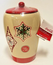Cookie Jar Coca-Cola Christmas Holiday Things Go Better With Coke - $27.51