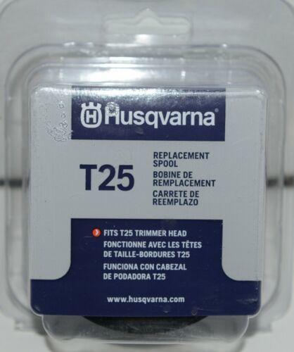 Husqvarna 589357701 T25 Replacement Spool Grey Plastic Pkg 1