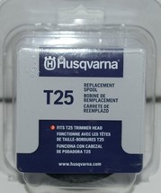Husqvarna 589357701 T25 Replacement Spool Grey Plastic Pkg 1 image 1