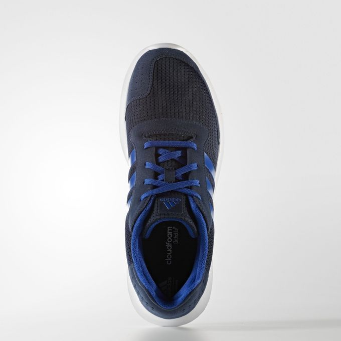 Adidas Mens Training Running Element Low Top Blue Sports Athletic Shoes BA7910