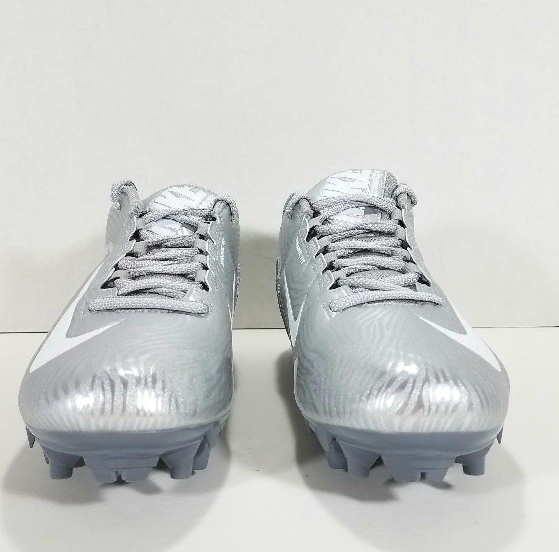 buy online a1160 26a48 New Nike SpeedLax 5 Lacrosse Cleats Women s SZ 10 Silver Gray   White  807158-010