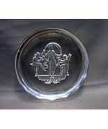 16 Sided  Round Czech Glass Intaglio  Salt Cellar (Heinrich Hoffman) - $10.99