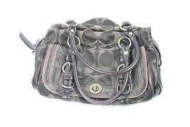 Coach Legacy Signature Zip Satchel Shoulder Bag 12599 - $49.95