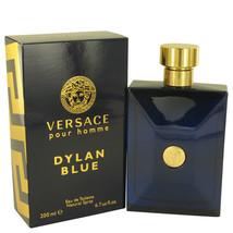 Versace Pour Homme Dylan Blue 6.7 Oz Eau De Toilette Cologne Spray image 5