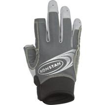 Ronstan Sticky Race Gloves w/3 Full & 2 Cut Fingers - Grey - X-Small - $43.53