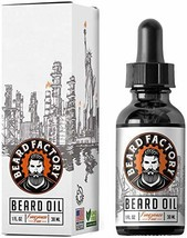 BEARD FACTORY Hard Workers' Beard Oil - Fast Absorbing, Non Greasy Feel, Natural