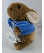 "Peter Rabbit Bunny 7"" Beatrix Potter Stuffed Animal Eden Plush Toy Blue ... - $11.99"