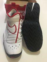 Nike Air Shake Ndestrukt Men's Basketball Shoes White/Red 880869 100 Size 11 image 4