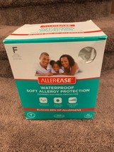 AllerEase waterproof allergy protector mattress cover zippered Sz Full 5... - $13.25