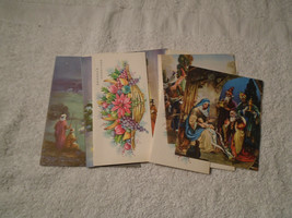 13 Vintage 1950s Gibson assorted Christmas New Year Holiday cards new unused - $29.69