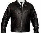 New German Luftwaffe Men's Black Cowhide Biker Style Real Leather Jacket 5074 - £74.07 GBP - £87.53 GBP
