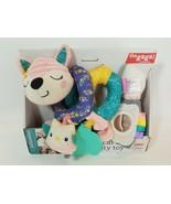 Infantino GaGa Spiral Car Seat Activity Toy Pink Baby Kitty Fox Car Sear... - $23.71