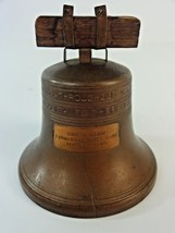 Vintage - Liberty Bell Model 40502 Coin Bank Farmers State Bank - Bennet... - $24.38